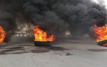 Kébili : Un manifestant met le feu à son corps