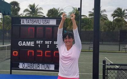 Tennis: Ons Jabeur remporte le tournoi de Sunrise aux Etats-Unis