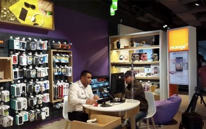 Visite au 1er Smart Store d'Orange Tunisie