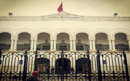 Mise en échec d'une tentative d'incendie du tribunal de Tunis 2