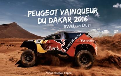 La Peugeot 2008 DKR star du Dakar 2016