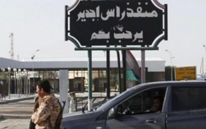 Libye : Retour à la normale au poste frontalier de Ras-Jedir