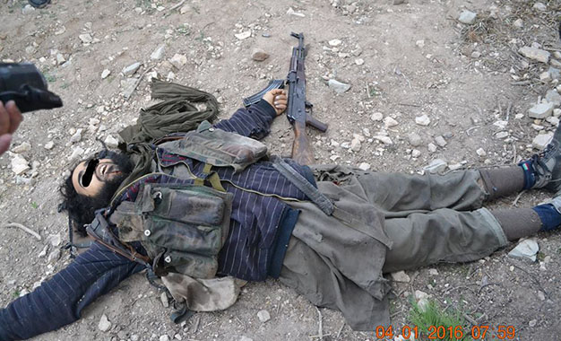 Terroriste abattu à Siliana 4 janvier 2016