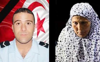 Décès de la mère de l'agent martyr Mohamed Toujani