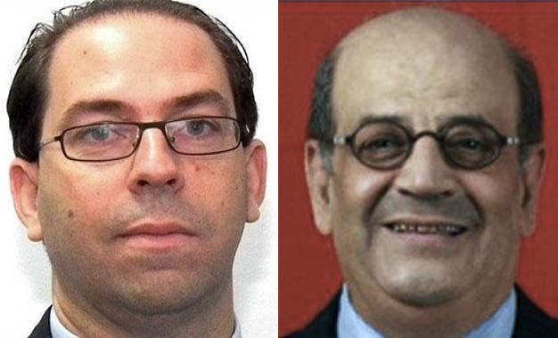 Toussef-Chahed-et-Raouf-Khammassi