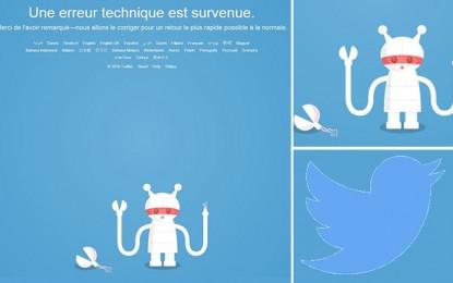 Twitter: L'accès revient après une panne mondiale