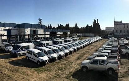 Don européen de 158 véhicules de santé pour la Tunisie