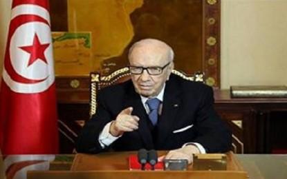 Caïd Essebsi : Solidarité avec les protestataires et fermeté avec les saboteurs