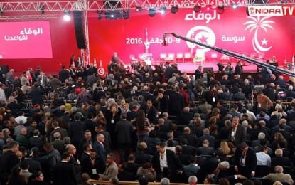 Sousse: Vives protestations au congrès du Nidaa