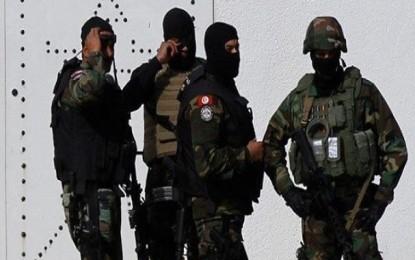 Bilan de la garde nationale : 18 agents blessés et 123 suspects arrêtés