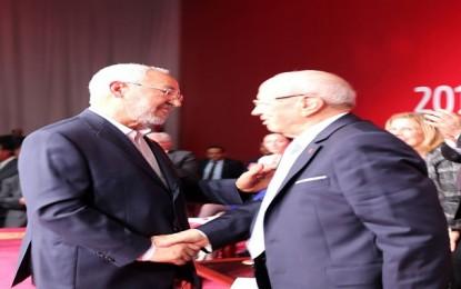 Rached Ghannouchi : «Ennahdha et Nidaa sont les 2 ailes de l'oiseau tunisien»