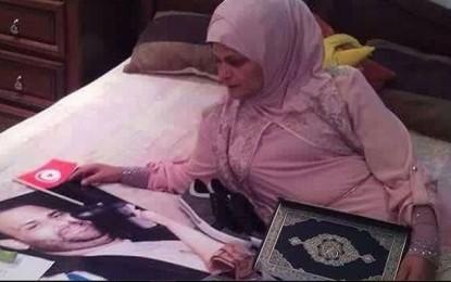 La mère de Nadhir Ktari va observer un sit-in à la Kasbah