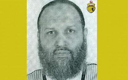 Avis de recherche d'un dangereux terroriste