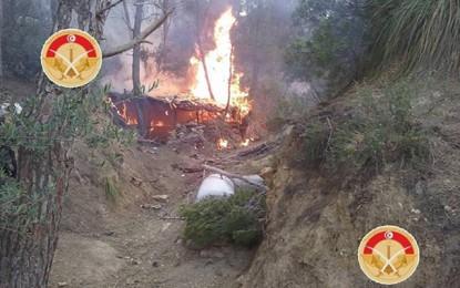 Jebel Salloum : L'armée découvre un campement terroriste