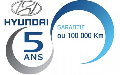 Alpha Hyundai Motor prolonge sa garantie constructeur de 3 ans à 5 ans