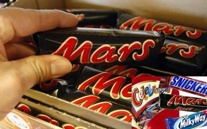 La Tunisie concernée par le retrait massif des Chocolat Mars