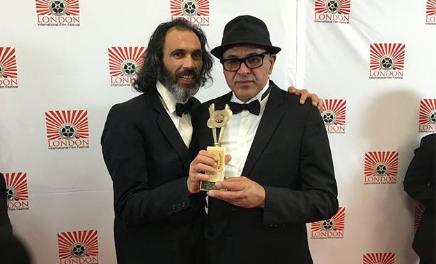 Mohamed Zran et Abdelkader Ben Saïd- Prix Londres-Film