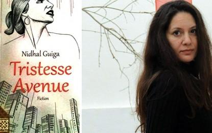 Nidhal Guiga dédicace son roman ''Tristesse Avenue'' à Paris