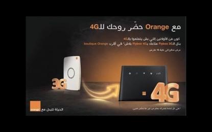 Orange Tunisie prépare ses clients à la Flybox 4G