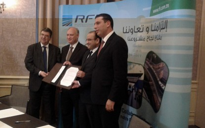 Le chemin de fer est l'avenir du transport en Tunisie