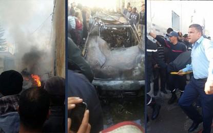 Gabès : Il se dispute avec sa femme et s'immole par le feu