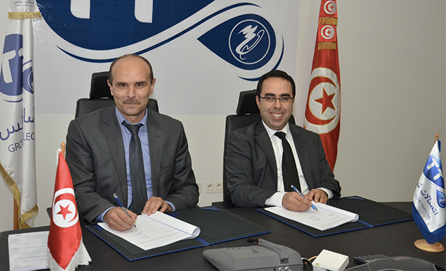 Accord de partenariat entre tunisie telecom et l oaca - Office de l aviation civile et des aeroports tunisie ...