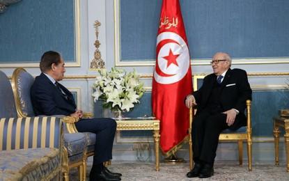 Abderrahim Zouari reçu par Béji Caïd Essebsi