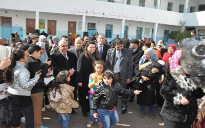 Inauguration de la 1ère école culturelle à El-Hrayriya