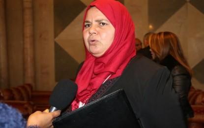 Mbarka Brahmi : « Je n'ai plus confiance en la magistrature »