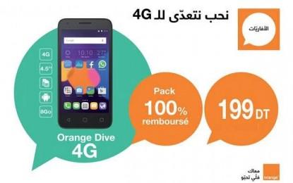 Orange lance le smartphone 4G le moins cher du marché tunisien