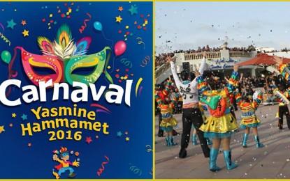 Carnaval international à Hammamet pour défier le terrorisme