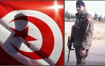 Le soldat martyr Ghaith Guetif enterré aujourd'hui à Gafsa