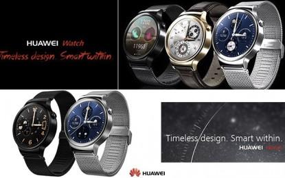 Huawei Watch : La montre connectée de tous les jours