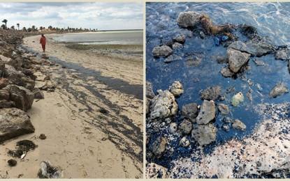 Sfax : La fuite de pétrole à Kerkennah est maitrisée