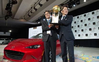 Nouvelles distinctions pour la Mazda MX-5 à New York