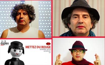 «Mettez du rouge» : Les Tunisiens s'engagent pour les femmes