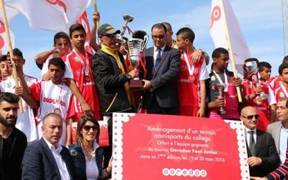 Les Bizertins remportent le tournoi Ooredoo Foot Junior