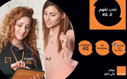 Orange met des coachs 4G à la disposition de ses clients