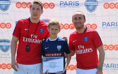 La Paris Saint-Germain Academy à Sousse
