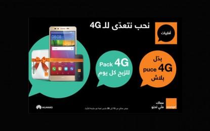 Orange  lance un routeur 4G pour le partage de la connexion