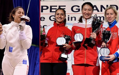 Escrime : Sarra Besbes devient 3e mondial