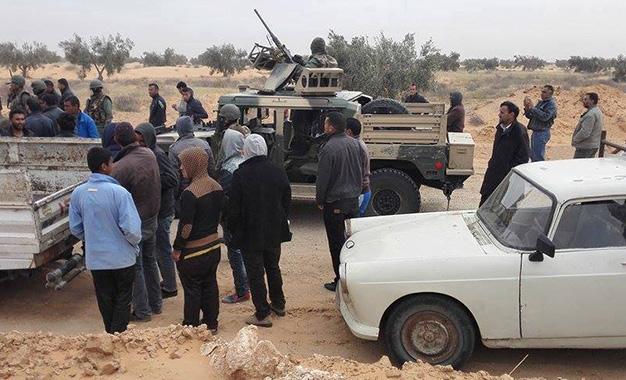 Traque terroriste Hassi Nour Ben Guerdane