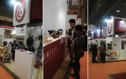 Les produits agroalimentaires tunisiens au salon Foodex Japan