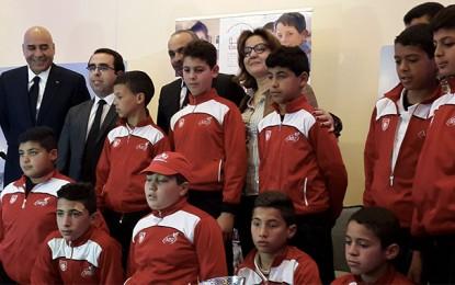 L'hommage de Tunisie Telecom aux petits rugbymen de Jemmal