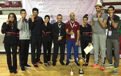 Taekwondo-Tournoi de Dubaï : La Tunisie rafle 13 médailles