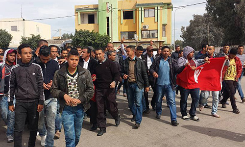 marche contre terrorisme Ben Guerdane