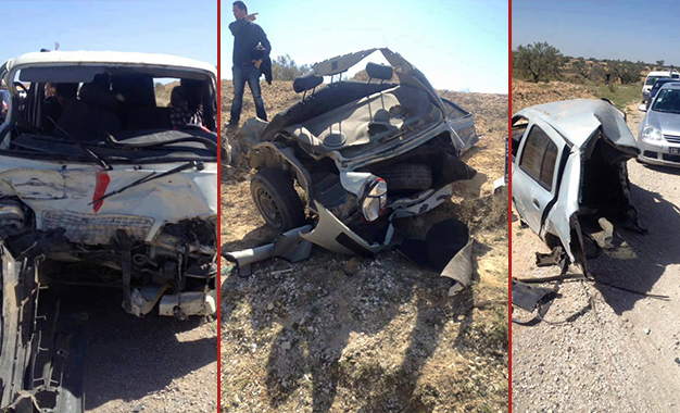 Accident Sousse- louage- voiture
