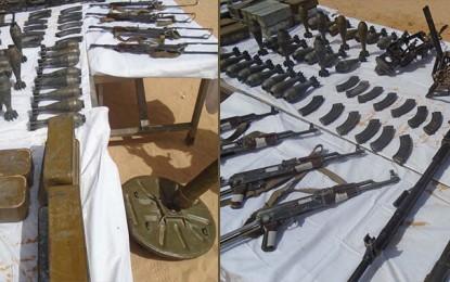 Algérie : Saisie d'armes de guerre à la frontière tunisienne