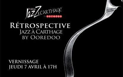 Exposition : «Rétrospective de Jazz à Carthage by Ooredoo»