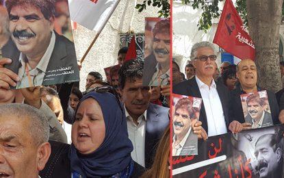 Manifestation contre le traitement judiciaire des assassinats politiques